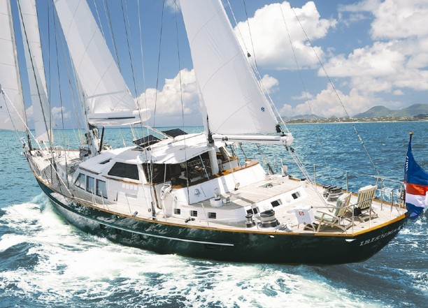 92 palmer johnson sailing yacht pegasus ii for sale all for Ocean yachts 48 motor yacht for sale
