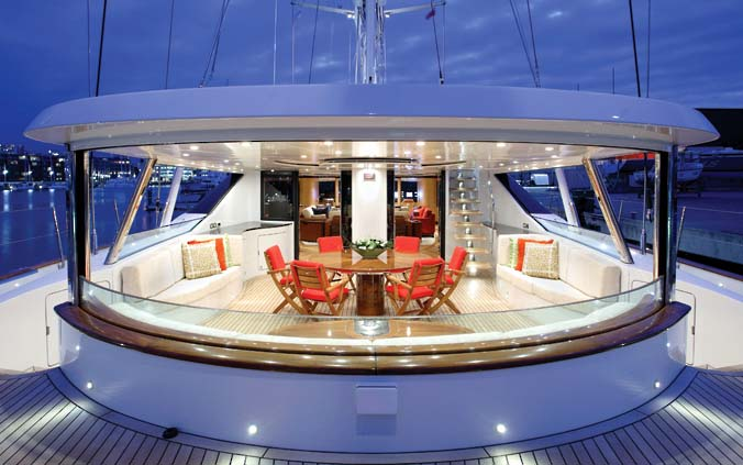 Alloy Yachts Detail