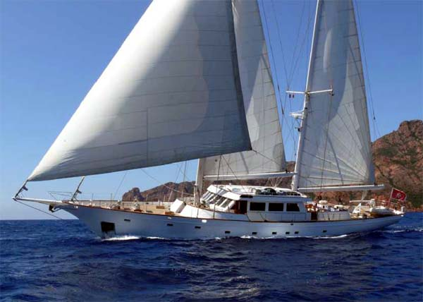 Sailing Yacht for Sale Queen Nefertiti