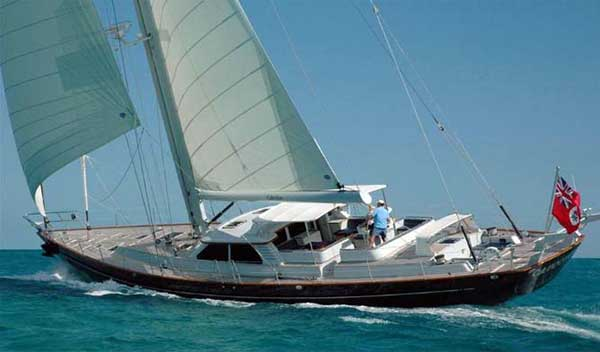 92 HOOD FONTAINE Sloop CABOCHON