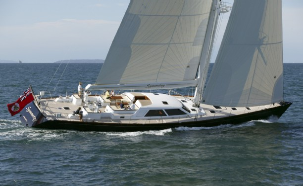 German Frers designed sailing yacht Symmetry sailing Yacht for Sale